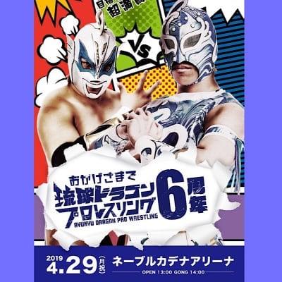 【DVD】琉王選手権試合はまさかの結末!グルクンVSみぃ魂のシングル!「旗揚げ6周年記念大会」