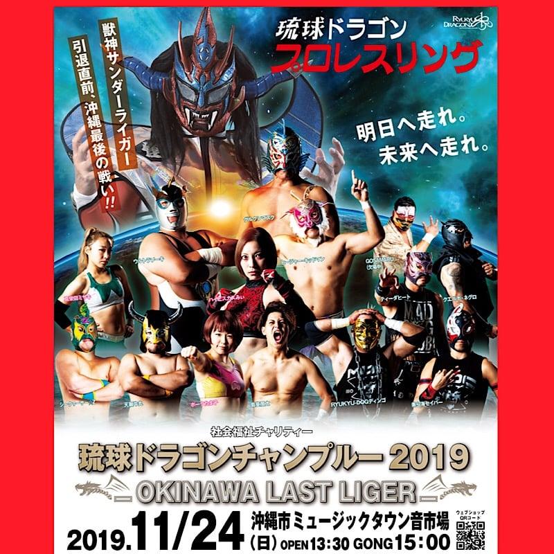 《11月24日(日)》社会福祉チャリティー 琉球ドラゴンチャンプルー2019【一般自由席】のイメージその1