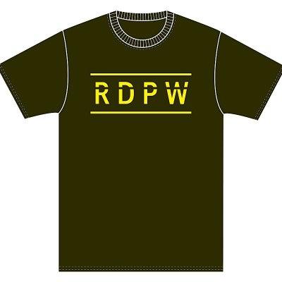 RDPW Tシャツ XLサイズ【アーミーグリーン×イエロー】