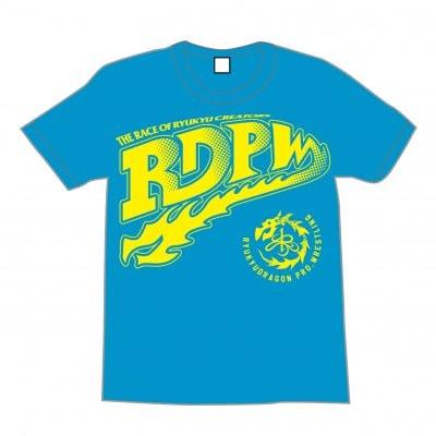 <SURVIVAL_WEAR製>RDPW Tシャツ XLサイズ【ターコイズ】