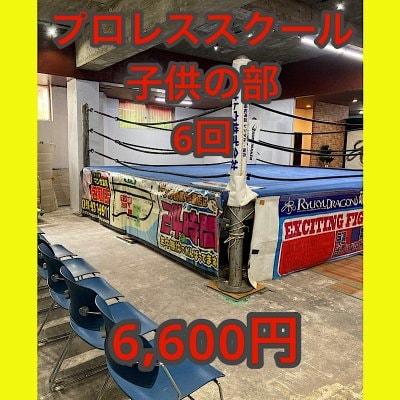 RYUKYU DRAGON GYMプロレススクール【回数券】(子供の部6回分)