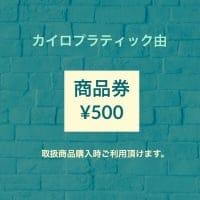 商品券 (500円)