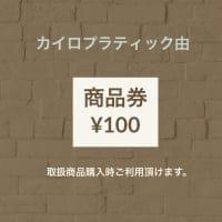 商品券 (100円)