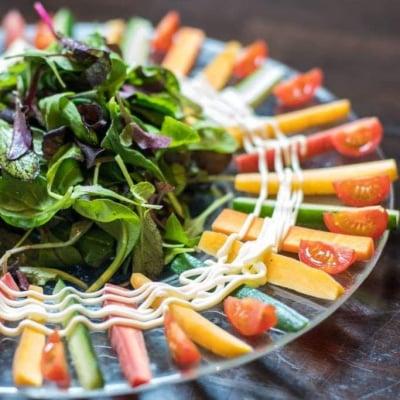 無農薬野菜の大将気まぐれサラダ