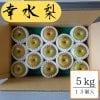 幸水/5kg箱13個入