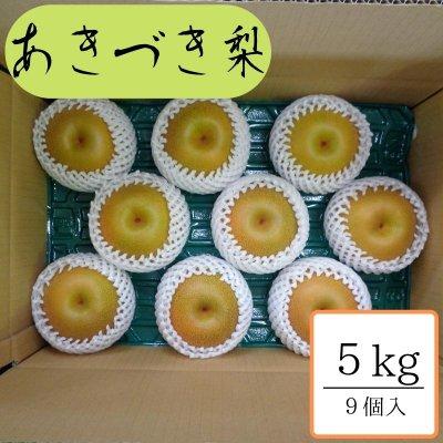 あきづき/5㎏箱8個〜9個入
