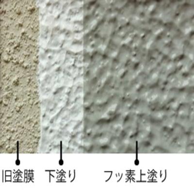 外壁フッ素塗装工事・屋根シリコン塗装工事