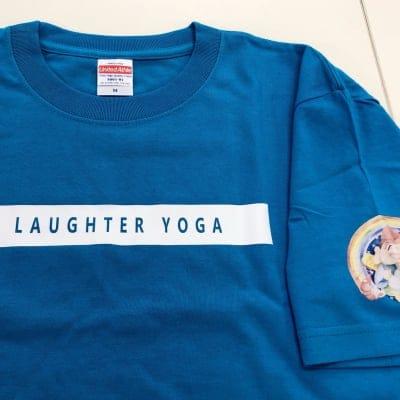 【ハイクオリティ】ゑびすきっぷイラスト入・LAUGHTER YOGA Tシャツ(タ...