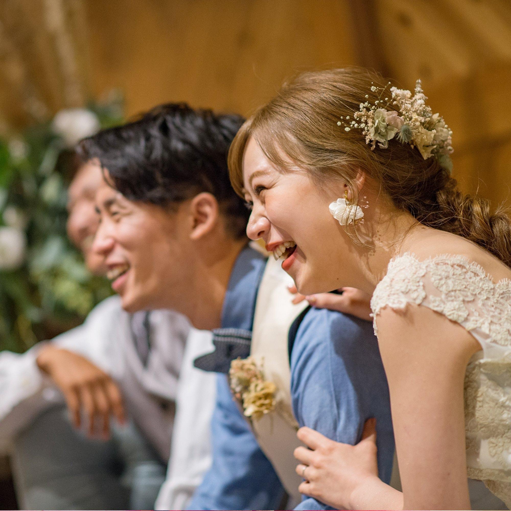 参列者の表情までも逃さない結婚式トータル撮影のイメージその5