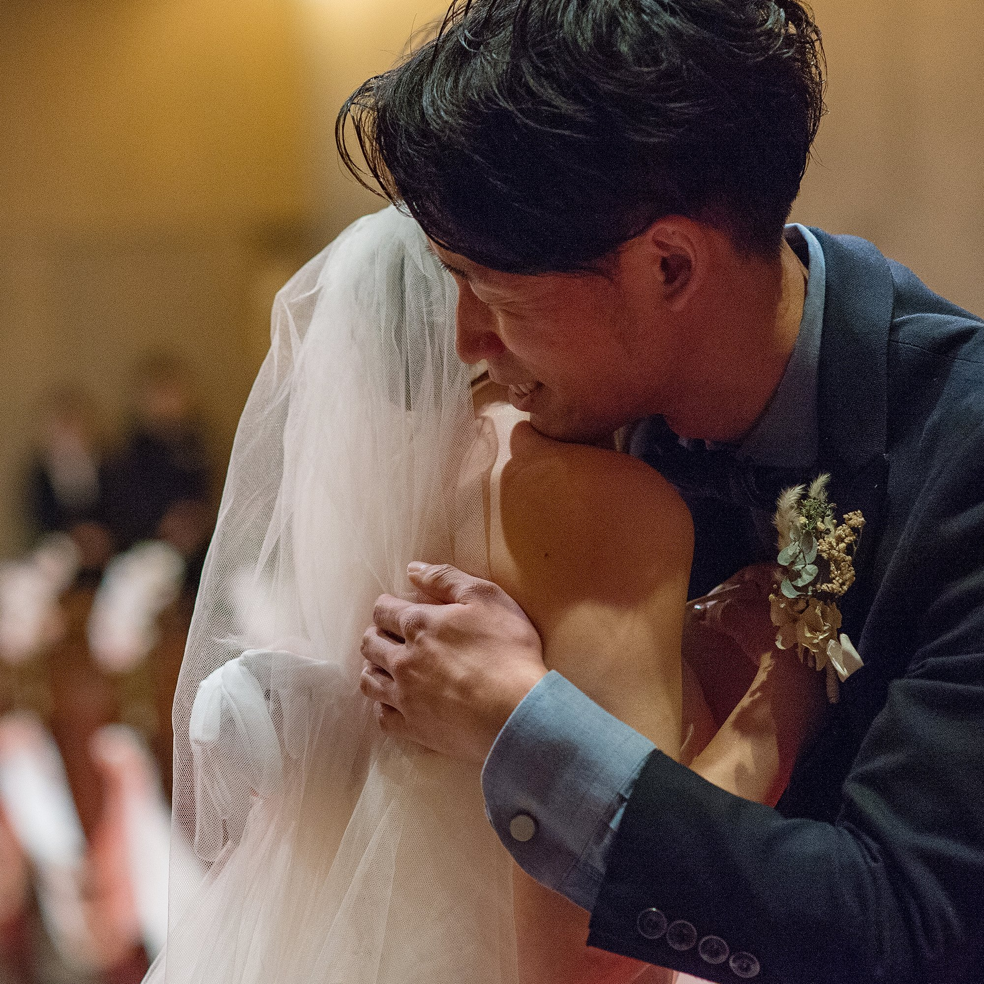 参列者の表情までも逃さない結婚式トータル撮影のイメージその1
