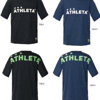 レジスタサッカーメッシュTシャツ(半袖)(ジュニアサイズ:140/150/160)(カラー:ブラック/ ネイビー)