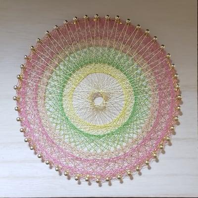 豊かさの象徴【金山媛(かなやまひめ)】エネルギー入りの糸かけ曼陀羅