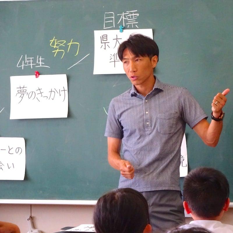 元日本サッカー代表波戸康広による講演会|1時間のイメージその2