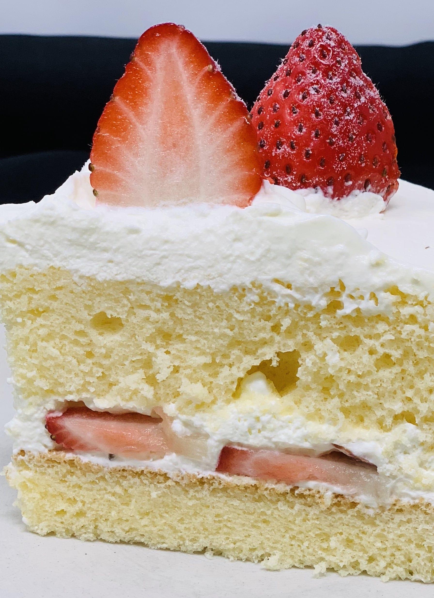 【前日までの予約専用】 誕生日ケーキ生クリーム6号のイメージその2