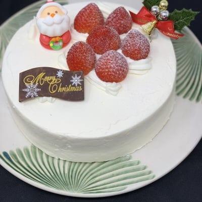 【店頭受け取り専用】グルテンフリー超低糖質クリスマスケーキホワイト5号 11月限定ポイント30%...