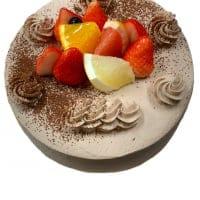 【前日までの予約専用】 誕生日ケーキチョコ生クリーム6号