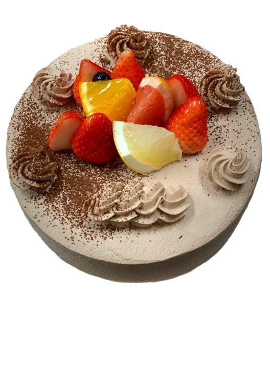 【前日までの予約専用】 誕生日ケーキチョコ生クリーム4号のイメージその1
