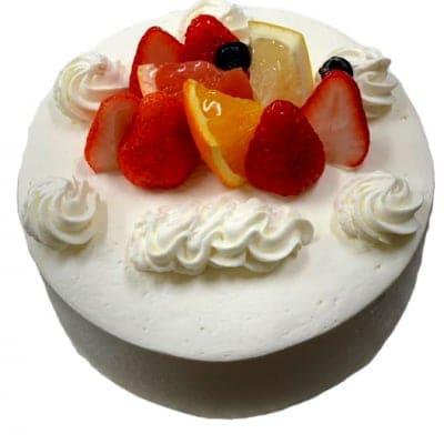 【ポイント増量中 予約専用】 誕生日ケーキ生クリーム5号
