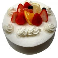 【前日までの予約専用】 誕生日ケーキ生クリーム6号
