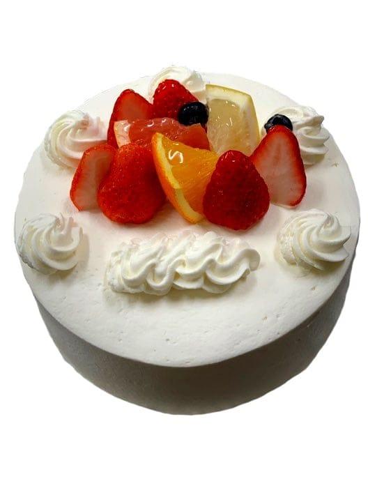 【前日までの予約専用】 誕生日ケーキ生クリーム6号のイメージその1