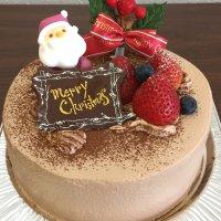 店頭受け取り専用】ほぼ北海道クリスマスケーキショコラ5号(4人から6人用)