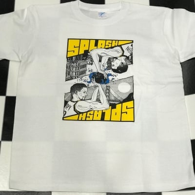 GLEAM SPLASH Tシャツ White