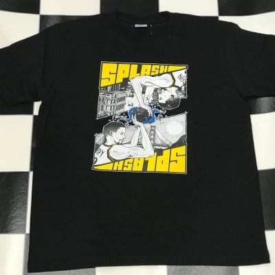 GLEAM SPLASH Tシャツ Black
