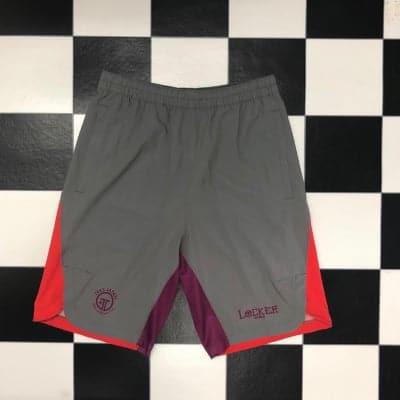 LOCKER×TRES Shorts Gray×Orange