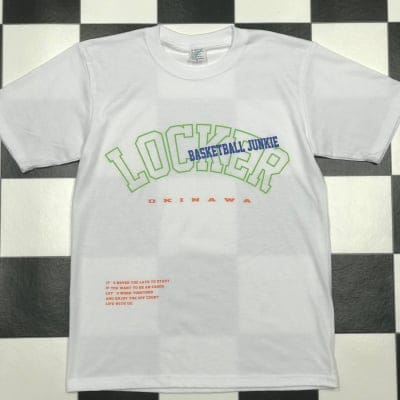 LOCKER NEON LOGO TEE WHITE【SALE】