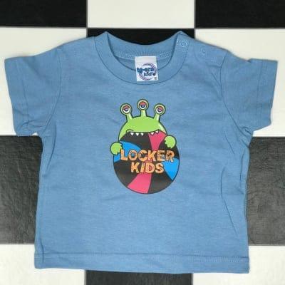 LOCKER KIDS TEE BLUE