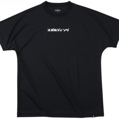 スポルディング TEE BLACK COLOR【SALE】 XLsize