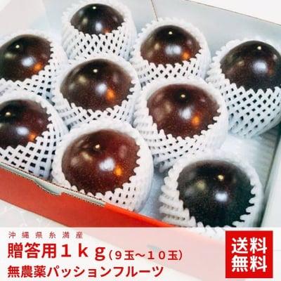 【高ポイント還元】【3月下旬発送開始 送料無料】沖縄糸満産 高級無農薬パッションフルーツ 1kg
