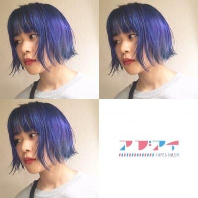 【maxカラーメンテ】イルミナカラー×[5step] TOKIOトリートメント