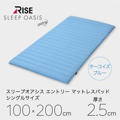 RISE スリープオアシス エントリー 2.5cm セミダブル