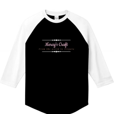 【人気】ラグランTシャツ/Mercy's Craft【セール】
