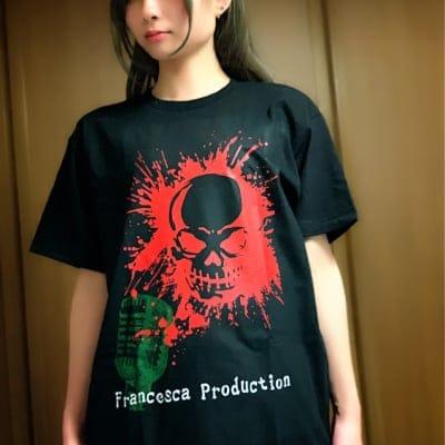 【残り】ローズ Tシャツ/Francesca Production【3サイズ】