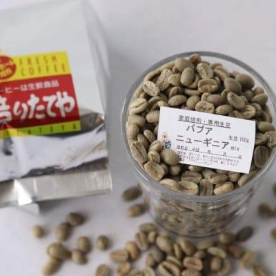 生豆 パプアニューギニアmix  100g