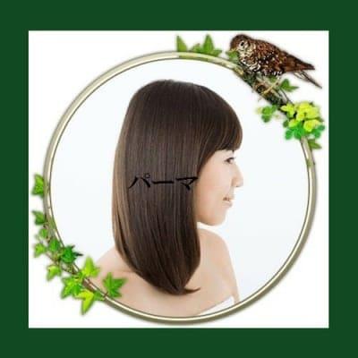 ダメージレス・パーマ(肌の弱い方も安心 毎月パーマかけても大丈夫 頭皮も髪も喜ぶパーマです)