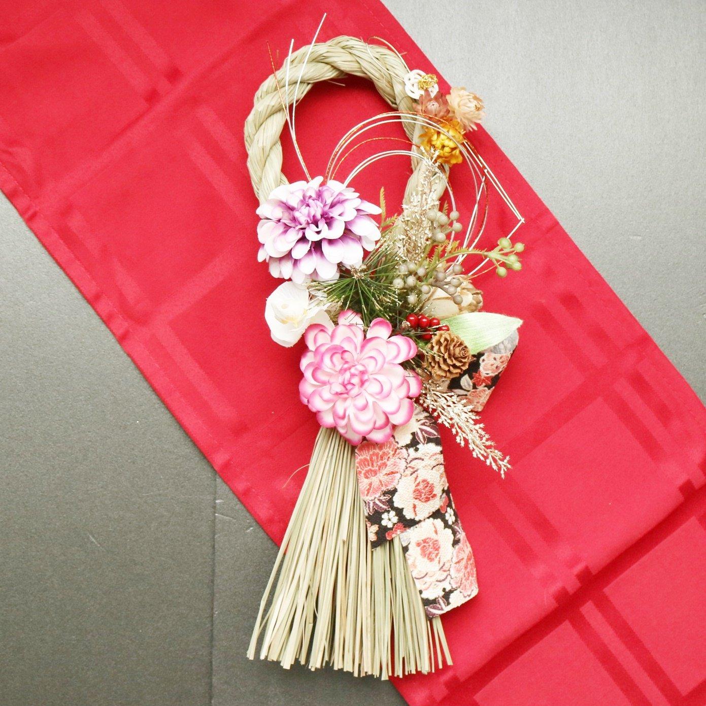 【サロン用】12/23開催しめ縄飾りレッスンチケット 八王子フラワー教室スターリリーフラワーズのイメージその2