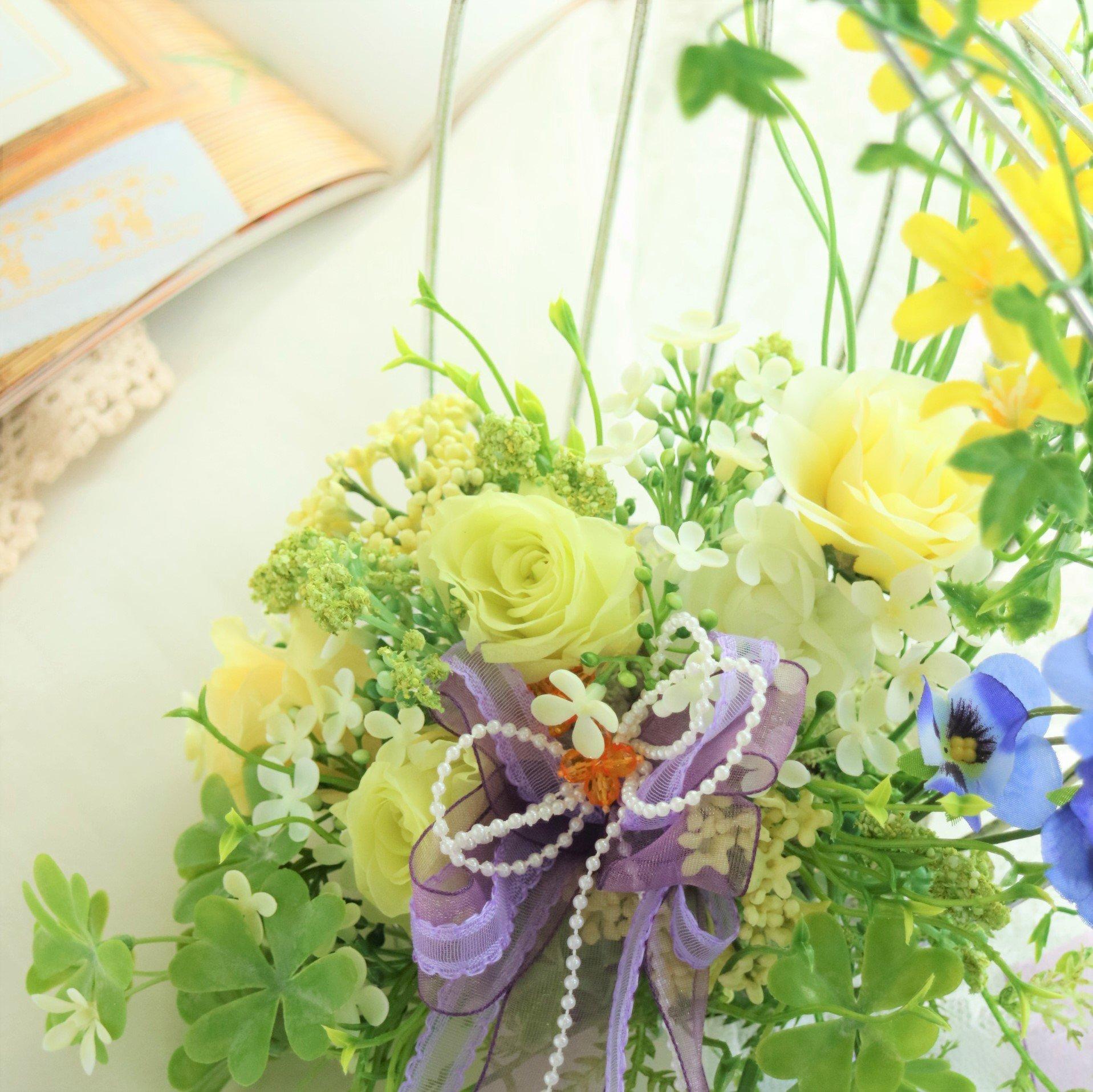 【2021年1月レッスン】春色の花摘みアレンジ 東京 八王子 フラワーギフト&レッスン スターリリーフラワーズレッスンチケット(お支払は現地払いのみ)のイメージその2