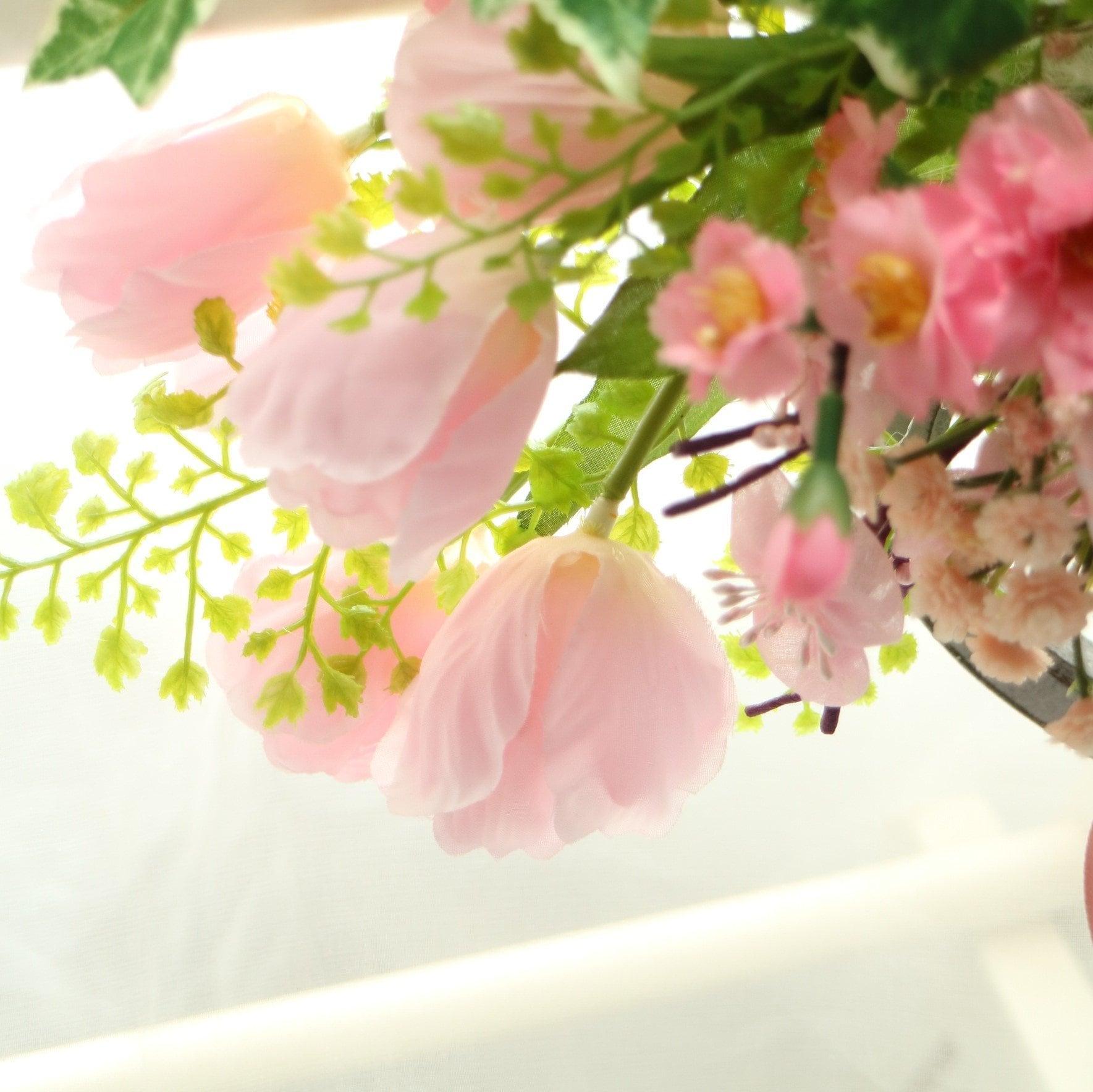 【2021年2月レッスン】春風になびくチューリップの壁掛けアレンジ 東京|八王子|フラワーギフト&レッスン|スターリリーフラワーズレッスンチケット(お支払は現地払いのみ)のイメージその2