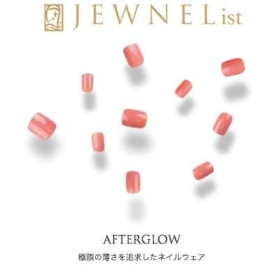 JEWNEL(ジュネル) ネイルウェア ネイルチップ AFTERGLOW ピンク