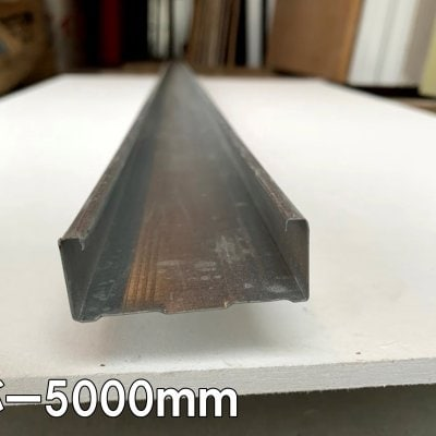 【建築用資材】Wバー5000mm【10本入り】