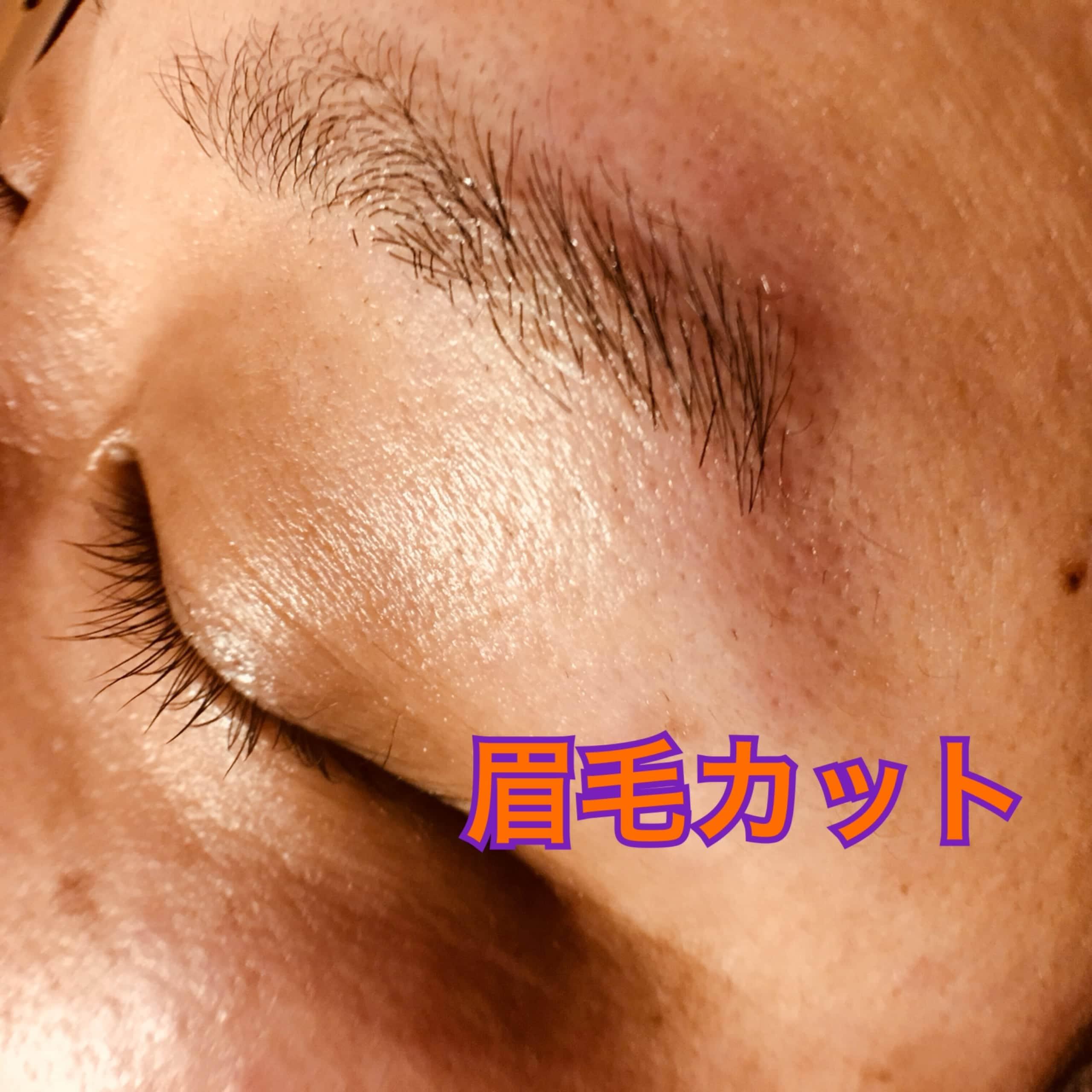 眉毛カット アイブローカット ★オプショナルメニュー★のイメージその4