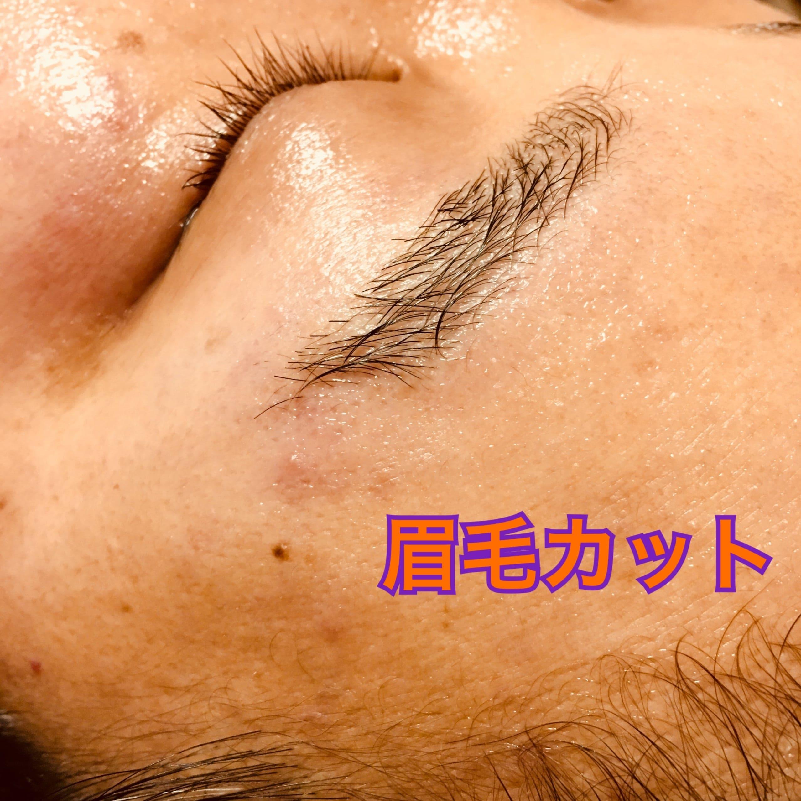 眉毛カット アイブローカット ★オプショナルメニュー★のイメージその2