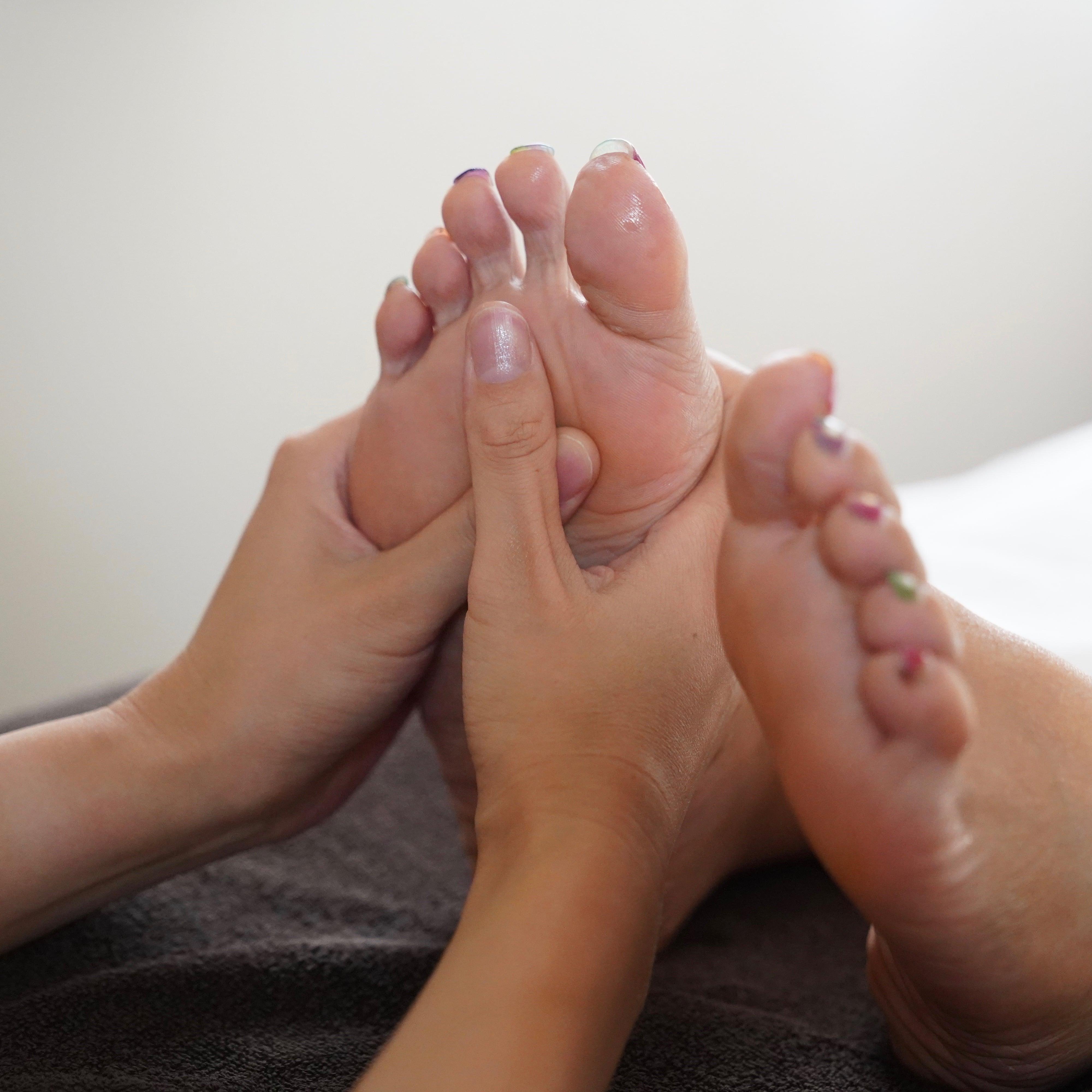 足つぼ 足裏マッサージ 足ポカすっきり のイメージその1