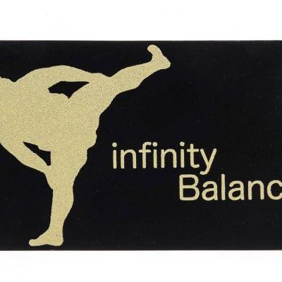 簡単・安全・安心・健康サポート&転倒予防‼ 腕につけるだけで、ポケットに入れるだけで無限大のバランスパワーinfinityBalance CARD プレミアムカードカード1000 黒