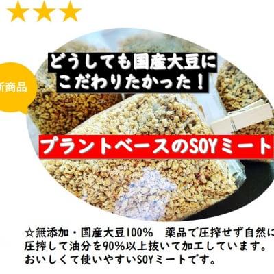 ☆遺伝子組換えなし無添加の国産大豆SOYミート使いやすいミンチタープ