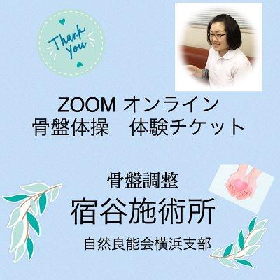 2/26(金)  ZOOMオンライン骨盤体操【体験】チケット