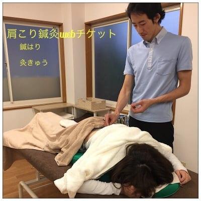 【T様専用 鍼灸Webチケット4】/肩こり/新潟県長岡市/鍼灸院/はりきゅう院